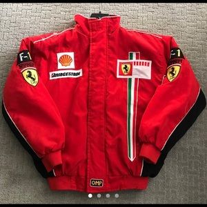Authentic Ferrari racing jacket.
